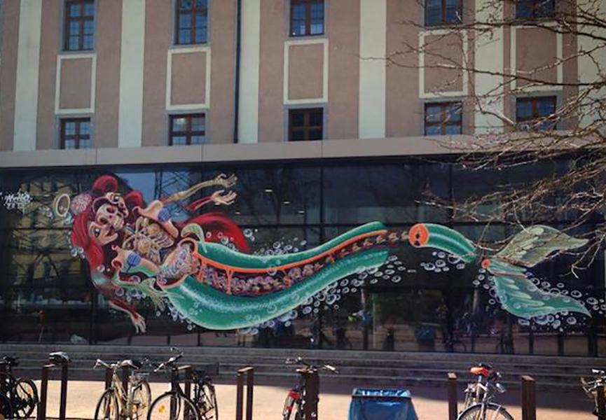 Mural in Linz