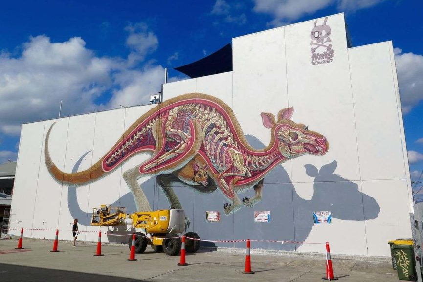 Nychos in Melbourne, via deansunshine c