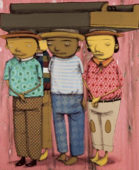 Os Gemeos-Carregadores de Piano-2006