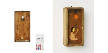 Os Gemeos-Untitled (Girl in Boat)/Untitled (Girl with White Flower)/Untitled-