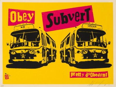 Shepard Fairey-Obey Pistol Subvert-