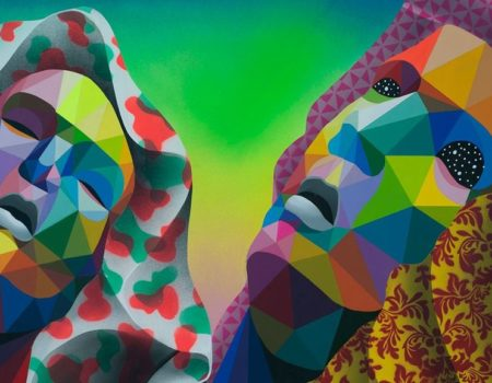Corey Helford Gallery Dons the First US Exhibition of Okuda San Miguel Art !