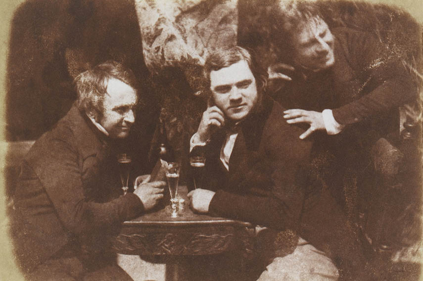 Oldest Known Photo of Drinking niépce