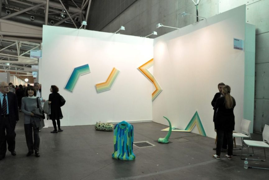 Operativa Stand with works by Matteo Nasini. Artissima 2015