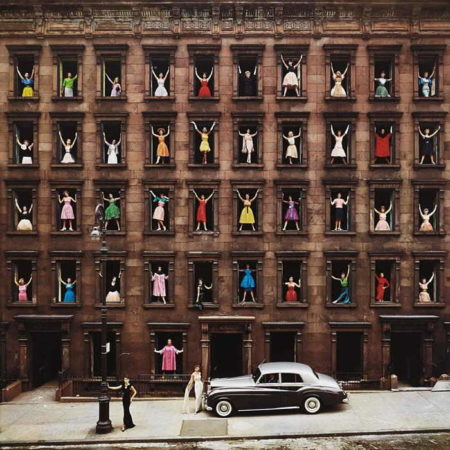 Ormond Gigli-Girls in the Windows, New York City-1960