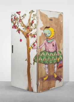 Os Gemeos-El hombre que Robaba Manzanas (The man who Stole Apples)-2008