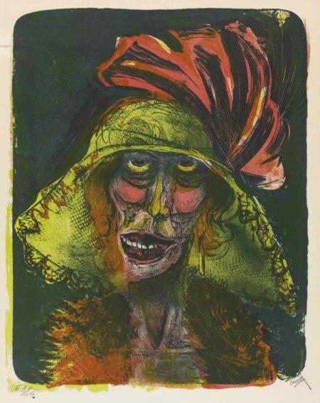 Otto Dix-Leonie-1923