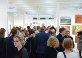 Outsider art fair in Paris