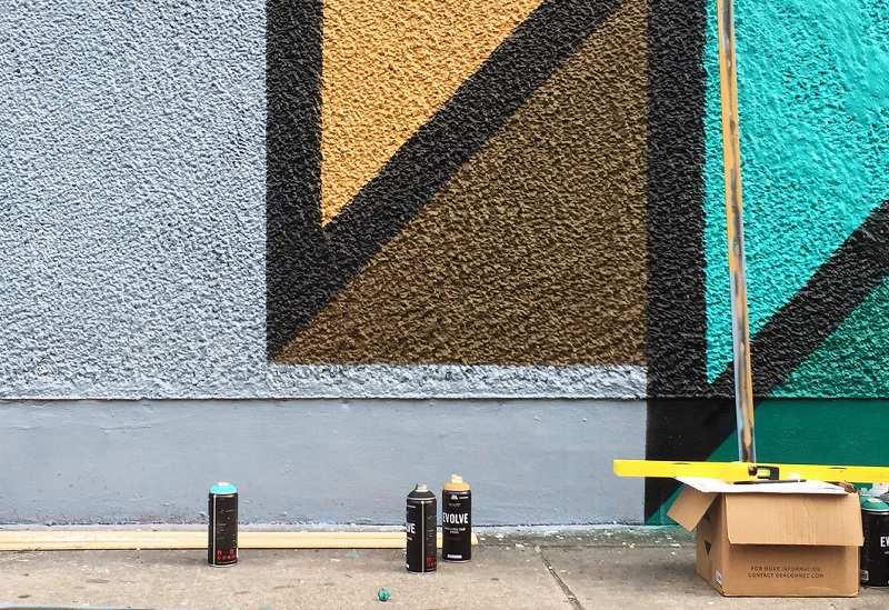 Ozmo x Joys - Medusa (detail #1) - Wynwood, Miami, 2015 - photo by the artist