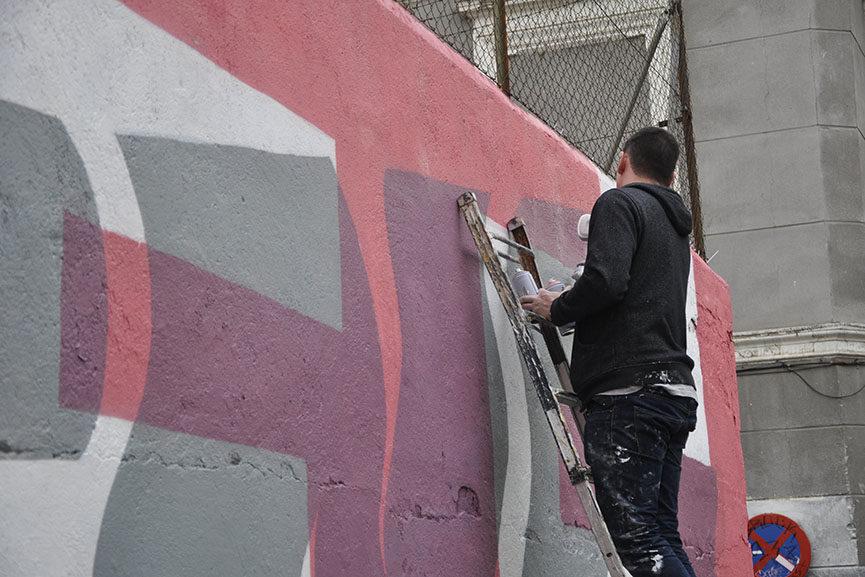 madrid mural