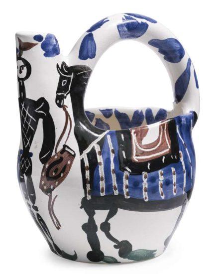 Pablo Picasso-Cavalier Et Cheval-1952
