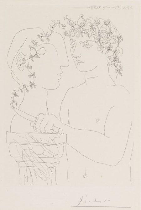 Jeune Sculpteur Finissant Un Platre-1933