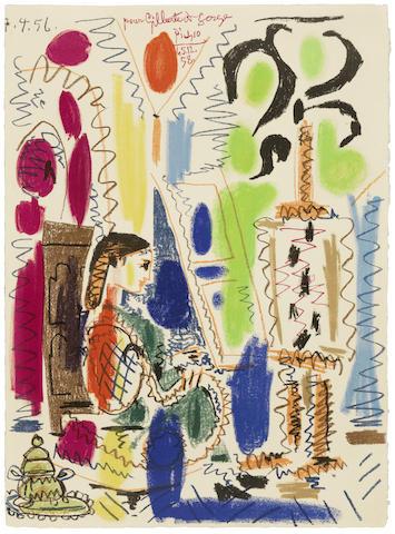 Pablo Picasso-L'Atelier de Cannes-1958