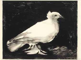 Pablo Picasso-La Colombe-1949