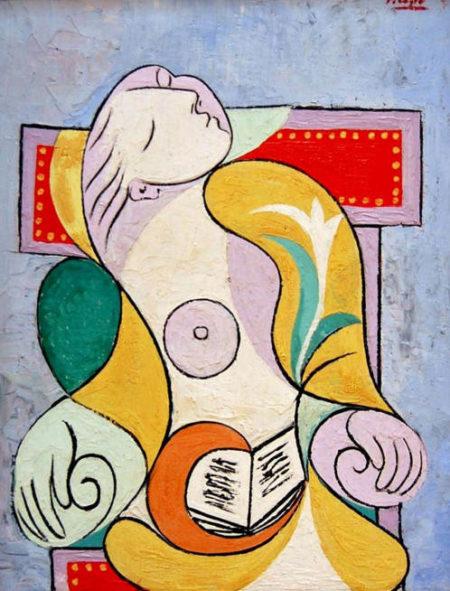 Pablo Picasso-La lecture-1932