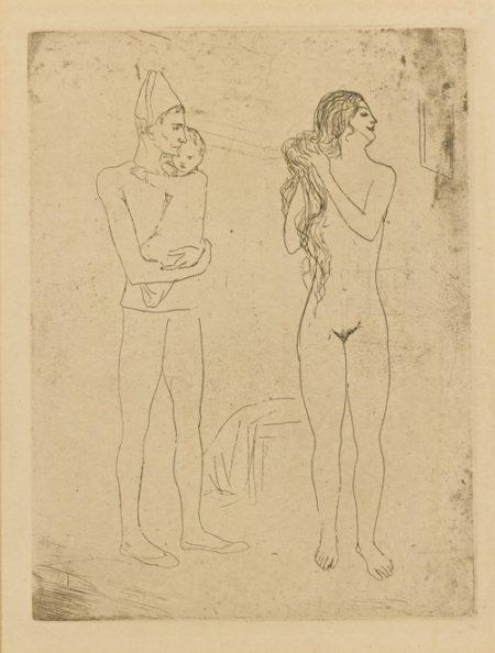 Pablo Picasso-La Toilette De La Mere (Bloch 13; Baer 15)-1905