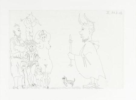Pablo Picasso-Le Cocu Magnifique-1966