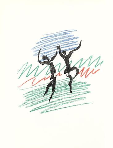 Pablo Picasso-Lithographe I-IV 4 vol-1964