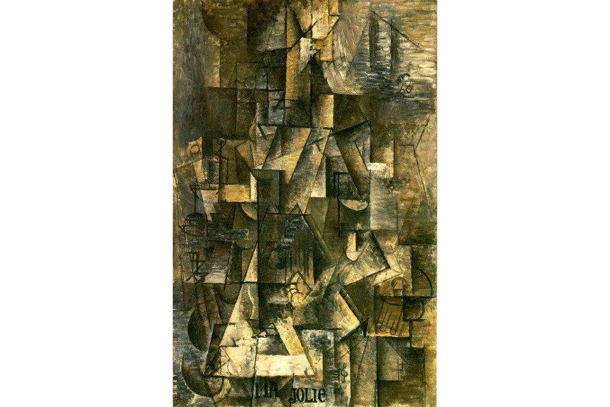 paris cubism is abstract to Paul