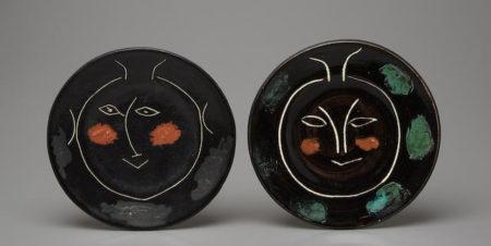 Pablo Picasso-Service visage noir (Plate J)-1948