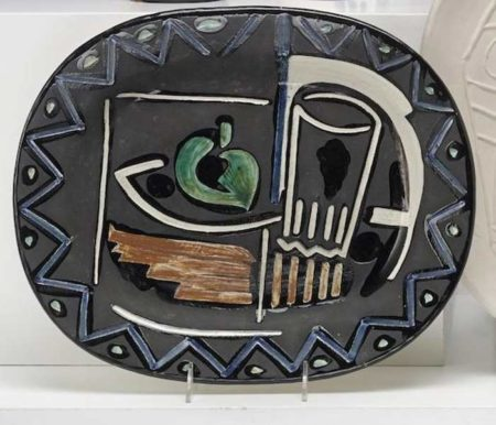Pablo Picasso-Still life-1953