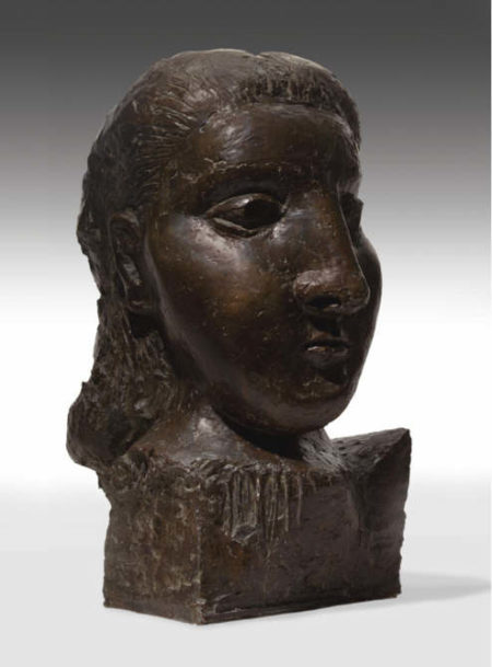 Pablo Picasso-Tête de Femme, Dora Maar-1941