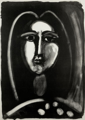 Pablo Picasso-Tete de Femme-1948