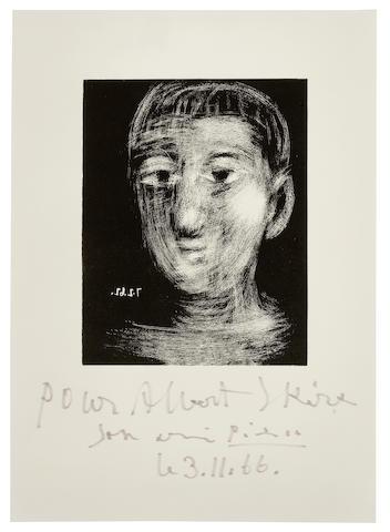 Pablo Picasso-Tete de Garcon III-1966