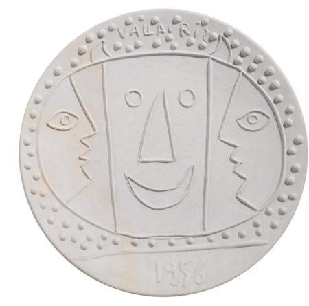Pablo Picasso-Vallauris-1956