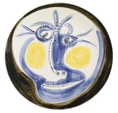 Pablo Picasso-Visage-1960