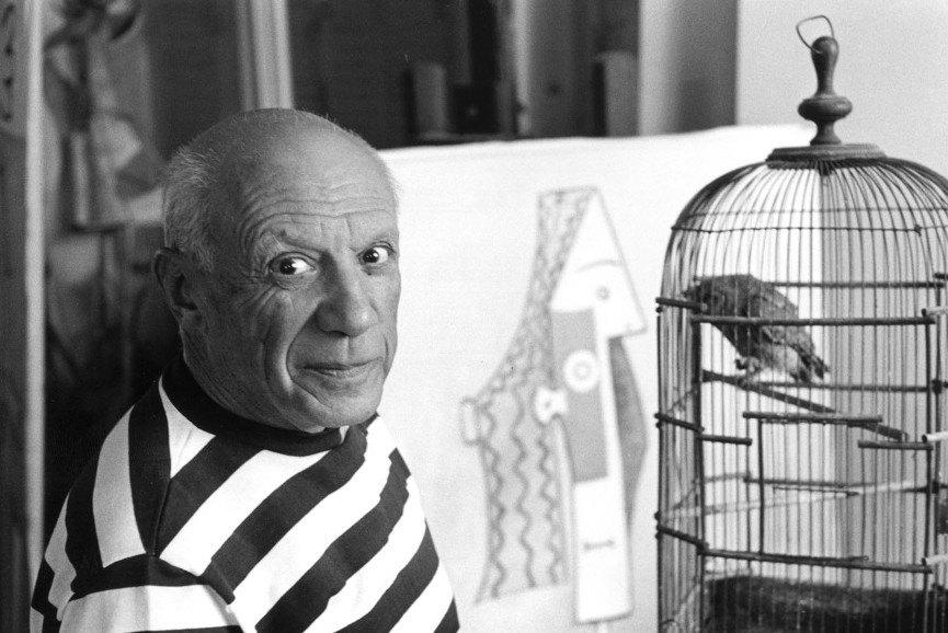 Pablo Picasso portrait - Image via godubrovnikcom