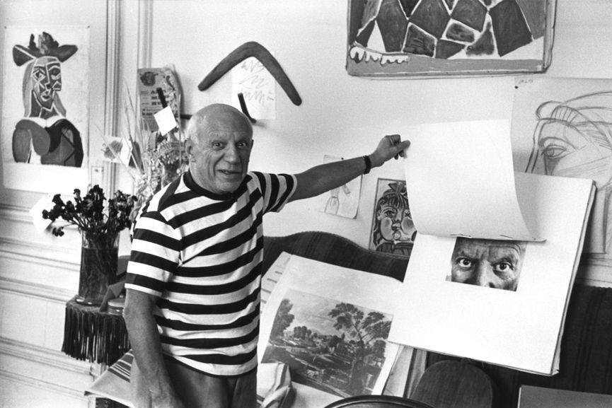Pablo Picasso, via waldina com