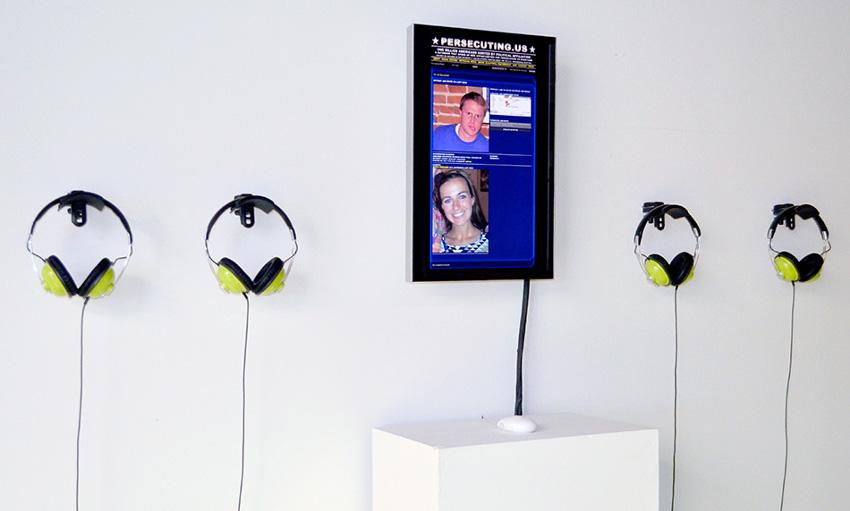 Persecuting.US in NYC at Eyebeam, 2012