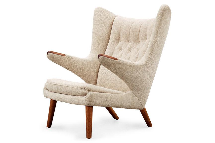 Papa Bear easy chair, by Hans J. Wegner 1950s