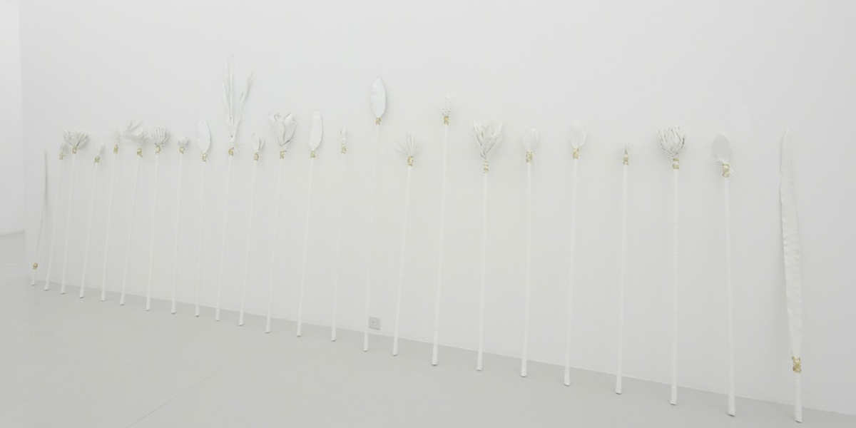 Patricia Eustaquio - Untitled (Spears), 2016 - photo credits of the artist and Yavuz Gallery