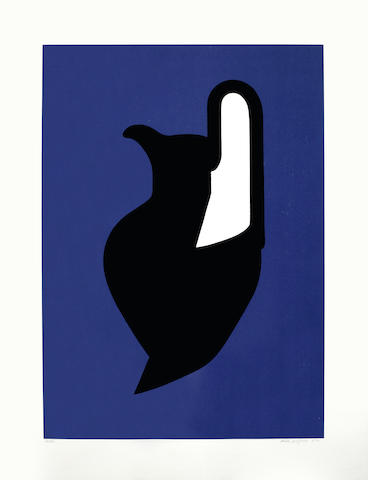 Patrick Caulfield-Vessel, from Wall Plates-1987