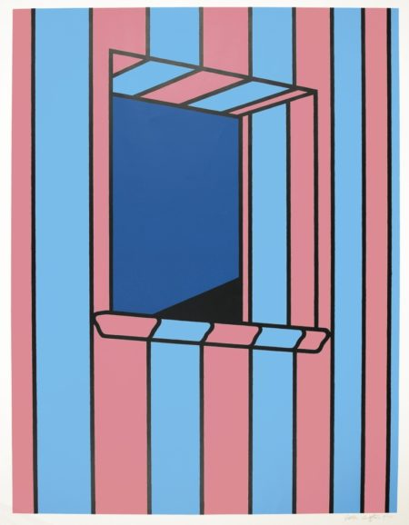 Patrick Caulfield-Window At Night-1972