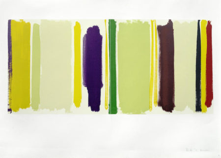 Patrick Heron-Verticle Light: March 1957-1978