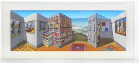 Patrick Hughes-My Room-2012