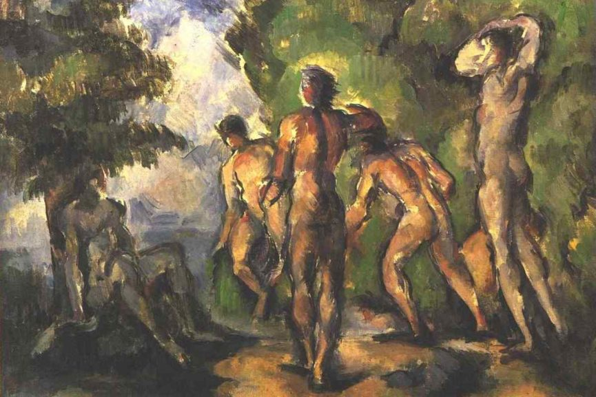 How Nude Bathers in Art Captivated Early Modernists