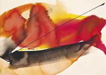 Paul Jenkins-Phenomena: Red Glow-1961