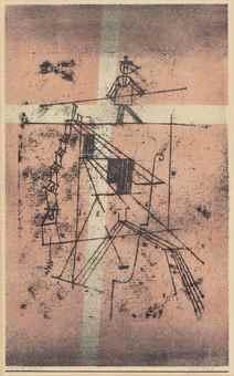 Paul Klee-Seiltanzer, from Kunst der Gegenwart-1923