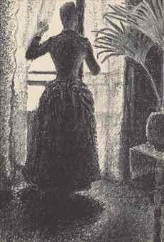 Paul Signac-Le Dimanche Parisien-1887