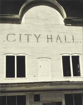 Paul Strand-City Hall, St. Elmo, Colorado-1931