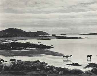 Paul Strand-Tir a'Mhurain, South Uist, Hebrides-1954