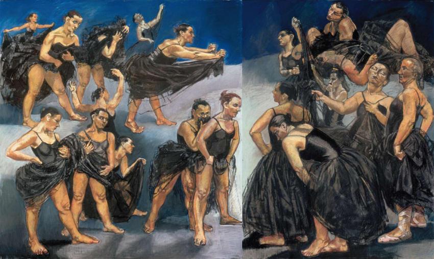 Paula Rego like new art displayed at marlborough home gallery in london