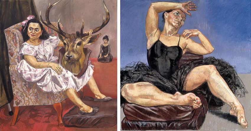 Paula Rego creates art in her home in London, and London is an inspiration for her