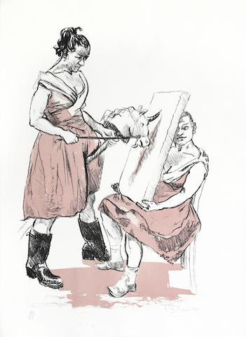 Paula Rego-The Unicorn Artist-2008