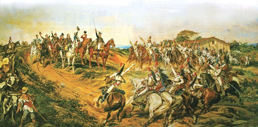 Pedro Américo - Brazilian Independence, 1822 - Image via bpcom