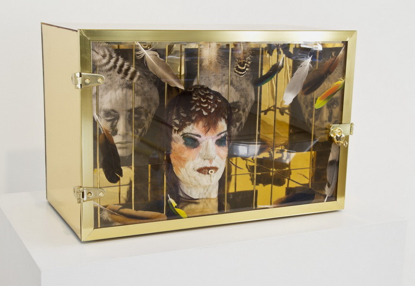 One of the best works of Penny Slinger was sold on auction in a New gallery